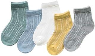 IAMZHL, 5 par/Lote Calcetines de bebé Espesar Dibujos Animados Comodidad Calcetines de algodón recién Nacido niños niño para 0-2 años Ropa de bebé recién Nacido-a1-12M