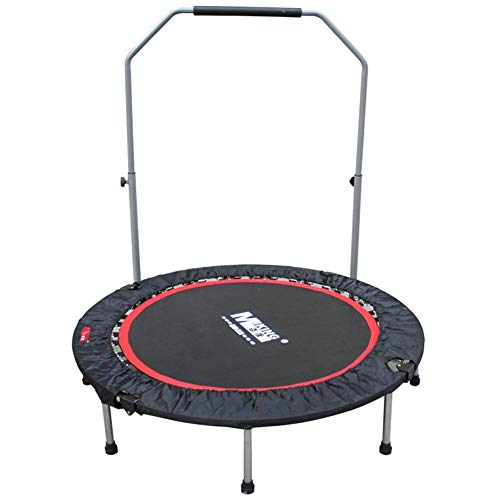 LuoMei Small Trampoline Foldable Jumping Fitness Trampoline Foldable Fitness Trampoline/Indoor Rebounder Jumper Aerobic Fitness Household Gym Exercise