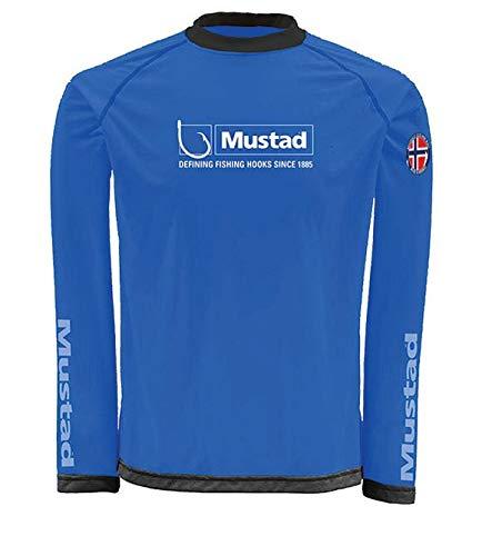 Mustad Day Perfect Shirt Blu XL T