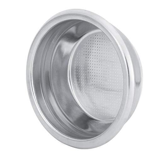 Cerlingwee Miska filtrująca, kubek z filtrem, trwały wielokrotnego użytku filtr z uchwytem do kawiarni półautomatyczny ekspres do kawy (dla dwóch osób)