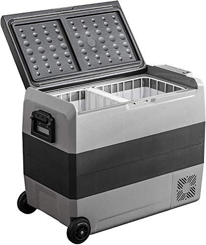 GNLIAN HUAHUA refrigerador 60L 12 V 24V Coche Refrigerador Refrigerador portátil Refrigerador rápido Oficina Inicio Oficina Esencial Refrigerador Personal (Color Name : 60L)