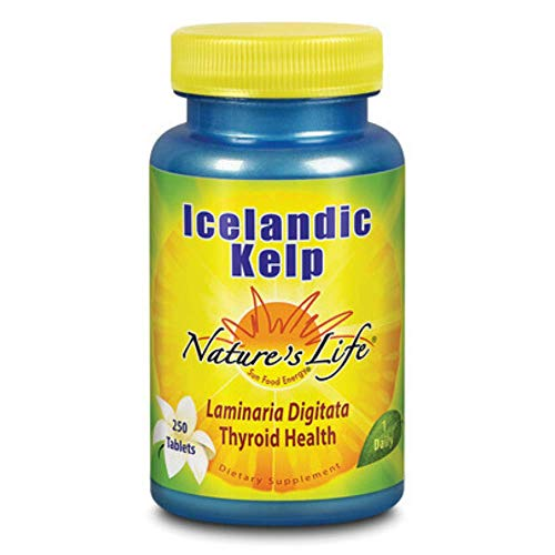 Nature's Life Icelandic Kelp | 250 ct