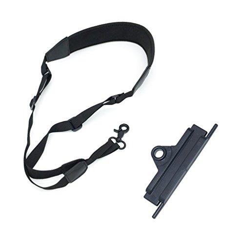 PENIVO Verstellbare Schlinge Fernbedienung Nackenband Lanyard Gürtel für DJI Mavic Air/Mavic Pro/Phantom 2 Vision/Phantom 3 / Phantom 4 / Inspire 1 /Mavic Pro Drohne (Tragegurt + Gürtelschnalle)