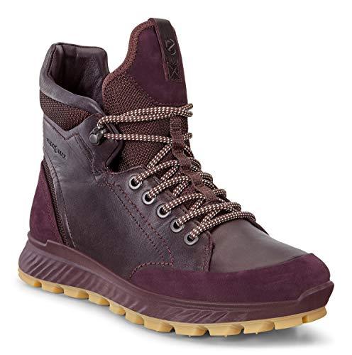 ECCO Damen EXOSTRIKE W Trekking- & Wanderstiefel, Violett (Fig/Fig 51502), 39 EU