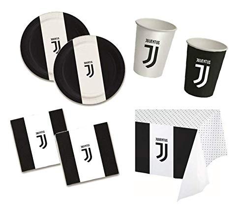 BIGIEMME S.R.L. Coordinato da TAVOLA Juventus addobbo Tavolo Festa Compleanno