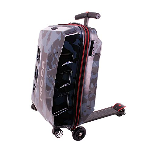 PRODG Prodg Maleta Scooter Gr. Blackage Koffer 60 Centimeters 60 Mehrfarbig (Black Orange)