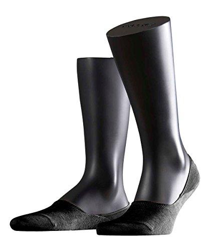 FALKE 3 Paar Socken 14625 Step Sneaker Invisibles Sommerlicher Kurzstrumpf, Farbe:Black, Socken und Strümpfe:39-40