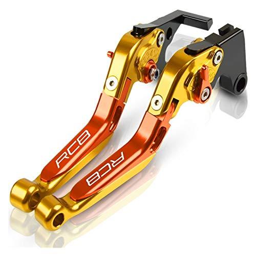 Kit De Embrague Palancas para Accesorios De Motocicleta RC8 RC8R Freno De Mano Ajustable CNC Palanca De Embrague Freno Expandible Y Plegable Cubre Puños del Manillar Pit Bike (Color : N)