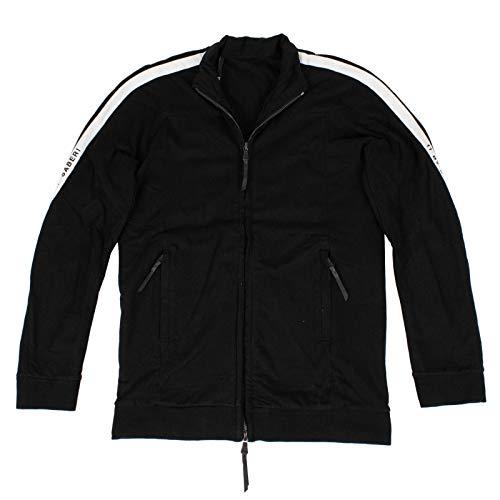 11 By Boris Bidjan Saberi Men's 'Logo Type' Track Jacket M Black