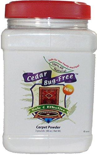Cedar Bug-Free Carpet Powder