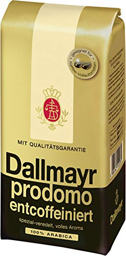Dallmayr entcoffeiniert ganze Bohnen 500g