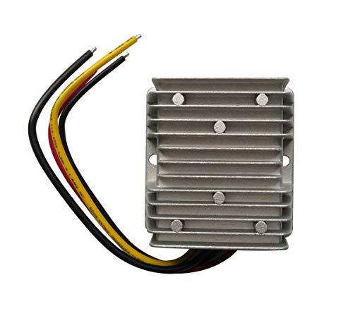 Vicue Converter Voltage Regulator Golf Cart Voltage Converter Reducer Transformer Waterproof DC 30-60V (20A 240W)