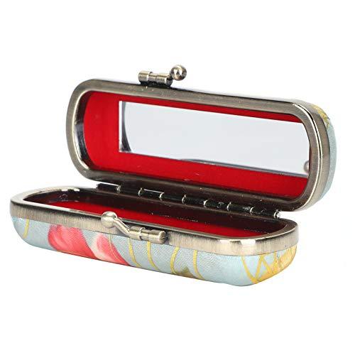 Porte-étui à rouge à lèvres, étui à rouge à lèvres Vintage, apparence à la mode Design de broderie traditionnelle voyage femme maison pour fille