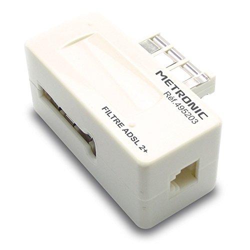 Filtre ADSL blanc M//F gigogne RJ