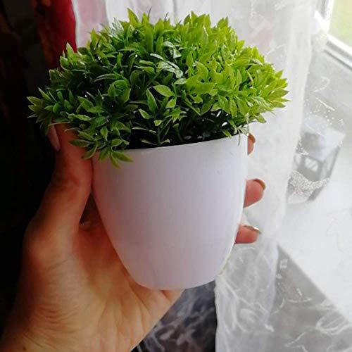 HEFEI Artificial Plants Bonsai Small Tree Pot Plants Fake Flowers Potted Ornaments for Home Decoration Hotel Garden Decor Bonsai