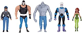 DC Collectibles Batman The Animated Series GCPD Rogues Gallery Action Figure 5 Pack Action Figure