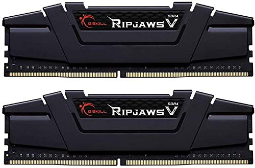 G.Skill 64GB DDR4 PC4-21300 2666MHz Ripjaws V for Intel Z170/X99 CL18 Dual Channel kit 2x32GB 1.2V