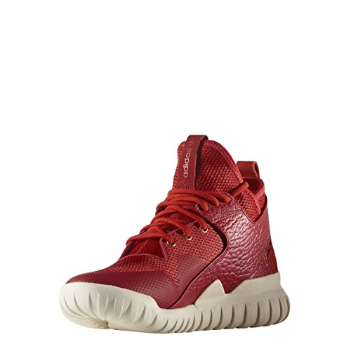 adidas Originals Tubular X CNY Mens Hi Top Trainers Sneakers (US 9, red red Gold AQ2548)