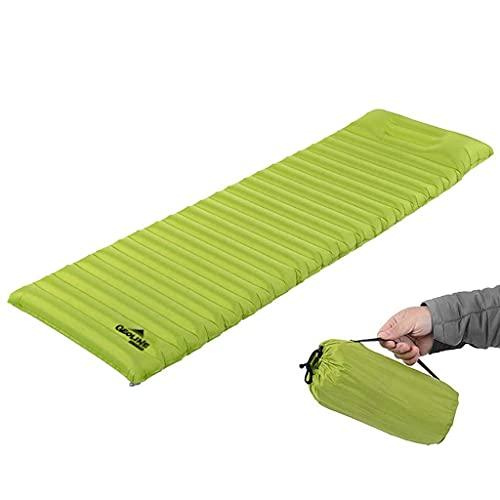 Hawk Zing アウトドア用エアーマット エアーベッド 屋外のキャンプテントの膨脹 可能な寝台 屋外 スリーピングベッド エアーマット プールの膨脹 可能なマットレス エアバッグ 本体枕設計され 袋式で空気を充填