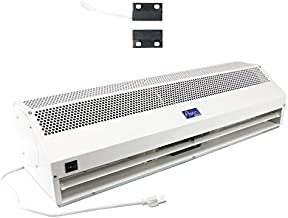 """Awoco 36"""" Super Power 2 Speeds 1200 CFM Commercial Indoor Air Curtain, UL Certified 120V Unheated, with an Easy-Install Magnetic Switch"""
