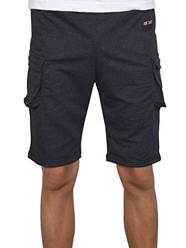 BEZLIT Jungen Shorts Kinder Kurze-Hose Cargo Capri Short Hosen Strech 30079 Anthrazit 128/134