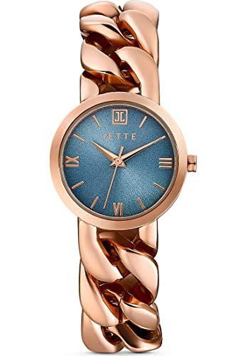 JETTE Damen-Uhren Analog Akku One Size Rose 32018375