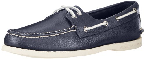 Sperry Men's Authentic Original 2-Eye Boat Shoe, New Navy, 8.5 M US