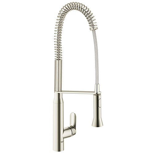 Grohe k7 semi-pro single-handle pull-out kitchen faucet