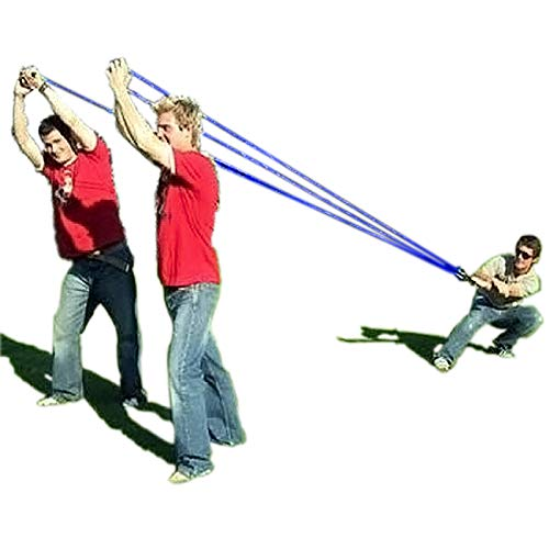 Water Balloon Launcher 500 Yard Toys 3 Person Slingshot 500 Water Balloons, The Beast Heavy Duty T-Shirt Launcher Water Bomb Slingshot Trebuchet Balloon Fight Cannon Catapult