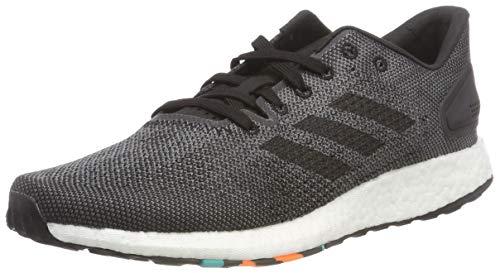 Adidas Pureboost DPR, Zapatillas de Running Hombre, Negro (Core Black/Core Black/DGH Solid Grey), 39 1/3 EU