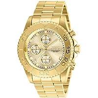Invicta Pro Diver Chronograph Quartz Champagne Dial Men's Watch
