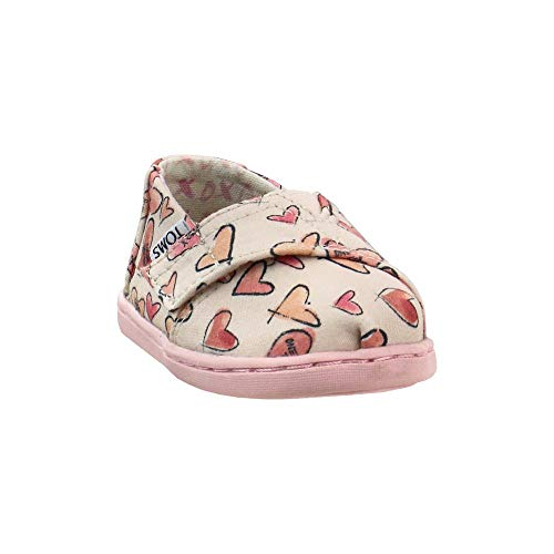 TOMS Infant Girls Alpargata - Sneakers Shoes Casual - Pink - Size 6 M