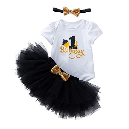 Meisjes Carnaval Jurken Korte Mouw Rompers +Tule Rok Pasgeboren Bodysuits Baby Zomer Prinses Jurk Feestjurk Elegante Kids Bruiloft Kids Bruidsmeisje Tutu Pettiskir 0-24 Maanden