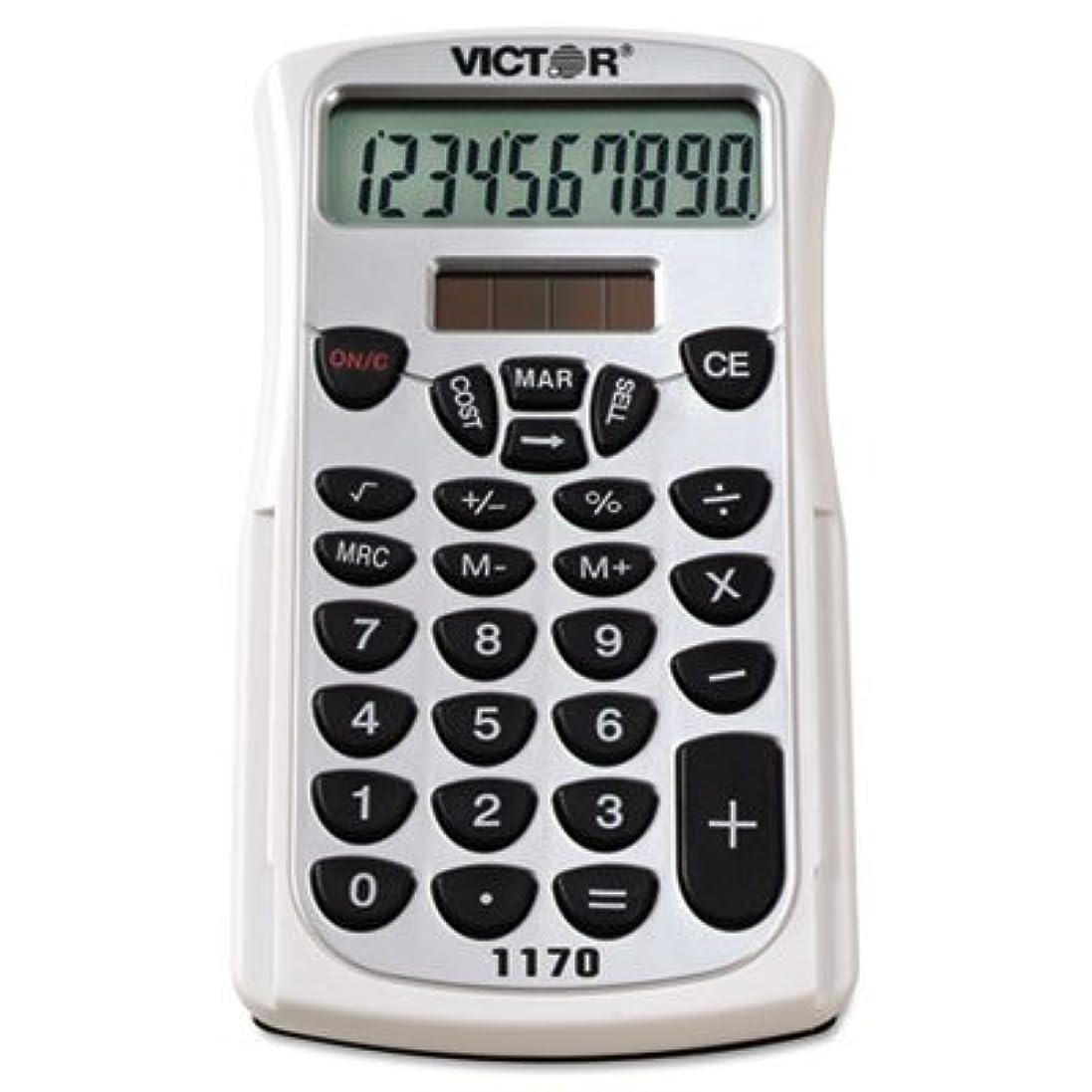 人形家事をする行為1170ハンドヘルドビジネス電卓10桁W /スライドケース、LCD、として販売2各
