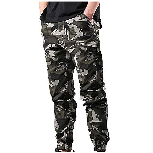 2021 Nuevo Pantalones Hombre Pantalones Casuales Moda Deportivos Running Pants Jogging Pantalon Fitness Gym Slim Fit Pantalones Camuflaje Largos Pantalones Ropa de hombre Pantalones de Trekking