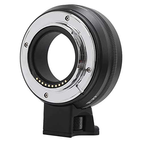 Adaptador de lente de cámara, anillo adaptador de lente de enfoque automático EF-FX para lente de montura para Canon EF/EF-S para cámara de montura FX de para Fujifilm,para X-T1/X-T2/X-T20/X-A1/X-A2