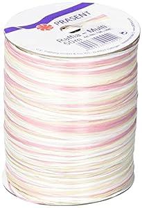 Präsent 50-m-Spule RAFFIA-Multicolour – Dekobastband, bunt