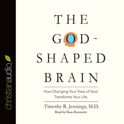 The God-Shaped Brain audiobook cover art