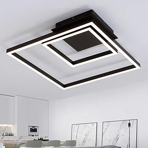5151BuyWorld Lamp Black Square Moderne lampen voor LED-plafond woonkamer slaapkamer Plafon LED-verlichting plafondlamp huis lampen topkwaliteit