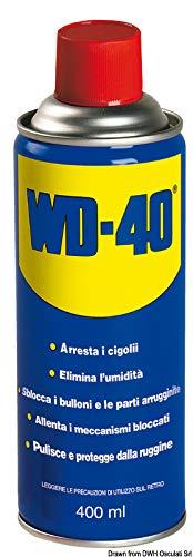 WD-40 multifunctionele smeermiddel, 400 ml.