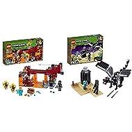 LEGO21154MinecraftTheBlazeBridgeBuildingSetwithAlexMinifigure,WitherSkeletonFigure,La...