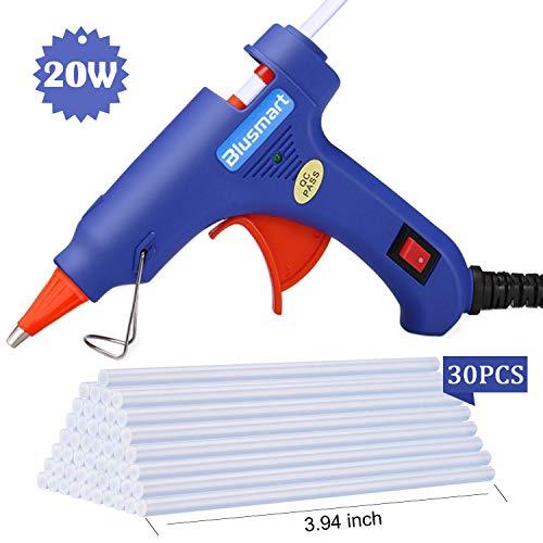 Hot Glue Gun,Blusmart Upgraded Version Glue Gun with 30pcs Glue...