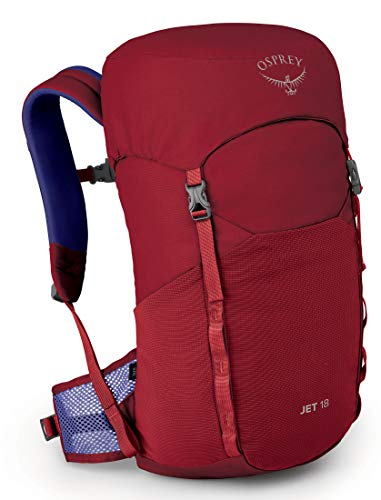 Osprey Jet 18 Enfant Cosmic Red FR: Taille Unique (Taille Fabricant: O/S)