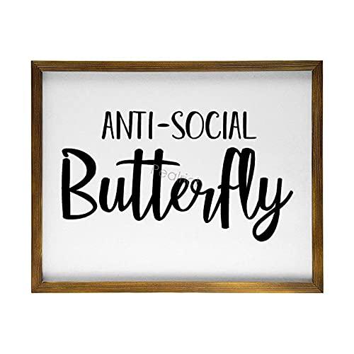 Pealrich - Segnale antisociale a forma di farfalla per gli introversi in...