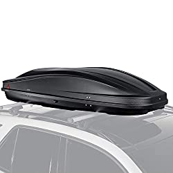 Cartrend 22407 G3 Dachbox Spark 480 I Gepäckbox I Gepäck I Dachkoffer I Autokoffer I Matt Schwarz I 390 Liter