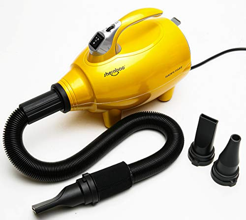 shernbao High Velocity Professional Dog/Pet Grooming Force Hair Dryer/Blower 4.0HP