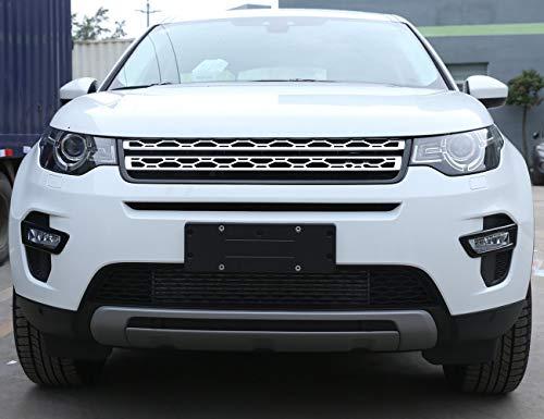 Topauto TOP-Auto ABS-Nebelscheinwerfer-Dekoration, glänzend, Schwarz, 2 Stück für Land Rover Discovery Sport 2015–2018