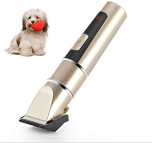 Professionele tondeuse voor honden Cat Quiet hond clipper trimmer hond USB Wireless Rechargeable