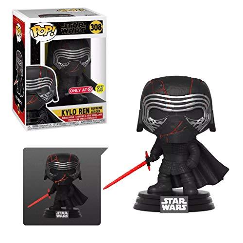 Funko Pop! Star Wars - Kylo Ren Supreme Leader Glow in The Dark Exclusive Vinyl Figure #308