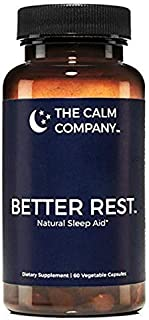 Better Rest - Natural Sleep Aid for Adults - Safe, Effective, Non-Habit Forming Herbal Sleeping Pills for Insomnia - Valer...